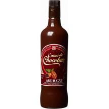 Arehucas | Licor Crema de Chocolate Schokoladenlikör 700ml 17% Vol. (Gran Canaria)