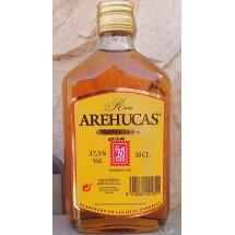 Arehucas | Ron Carta Oro brauner Rum 350ml 37,5% Vol. Flachmann (Gran Canaria)
