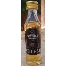 Artemi | Aniuska Vodka Caramelo 24% Vol. 50ml Miniaturflasche (Gran Canaria)