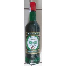 Baniks   Menta Liqueur Peppermint Pfefferminzlikör 20% Vol. 1l Glasflasche (Gran Canaria)