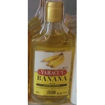 Yaracuy   Banana Liquor Bananen-Likör 15% Vol. 350ml PET-Flasche (Gran Canaria)
