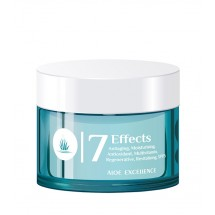 Aloe Excellence | 7 Effects Cream Antiaging Moisturing Antifalten-Feuchtigkeitscreme 50ml Dose (Gran Canaria)