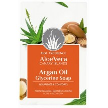 Aloe Excellence | Aloe Vera Glycerine Soap with Argan Oil Seife 100g (Gran Canaria)
