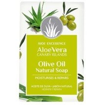 Aloe Excellence | Aloe Vera Glycerine Soap with Olive Oil Handseife 100g (Gran Canaria)