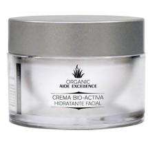 Aloe Excellence | Aloe Vera Crema Bio-Activa Hidratante Facial 100% Ecologico Bio 50ml Dose (Gran Canaria)