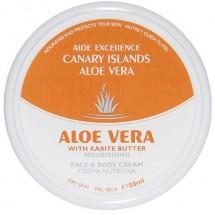 Aloe Excellence | Aloe Vera With Karite Butter Nourishing Creme 50ml Dose (Gran Canaria)ourishing Creme 50ml Dose (Gran Canaria)