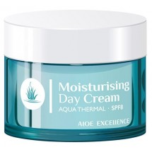 Aloe Excellence | Moisturising Day Cream Aqua Thermal Tages-Gesichtscreme 50ml Dose (Gran Canaria)
