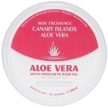 Aloe Excellence | Aloe Vera With Mosqueta Rose Oil Regenerative Creme 50ml Dose (Gran Canaria)