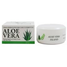 Aloe Vera Island | Crema Hidratante Cara y Cuerpo Eco Bio Aloe Vera Feuchtigkeitscreme 100ml Dose (Fuerteventura)