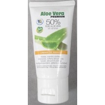 Aloe Vera Premium | Crema de Manos Eco 50% Puro Aloe Vera Bio Handcreme 50ml Tube (Gran Canaria)