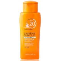 Canarian Suncare | Aloe Vera Sun Lotion SPF 20 Sonnencreme Lichtschutzfaktor 20 200ml (Gran Canaria)