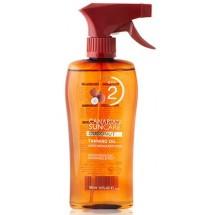 Canarian Suncare | Coconut Tanning Oil SPF 2 Kokosnuss-Bräunungsspray Lichtschutzfaktor 2 200ml (Gran Canaria)