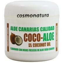 Aloe Canarias Calidad | Coco-Aloe Kokos-Aloe Vera Körpercreme 300ml Dose (Teneriffa)