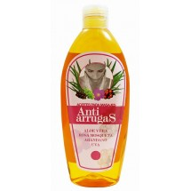 Cosmonatura | Aceite Anti Arrugas Aloe Vera y Rosa Mosqueta 250ml (Teneriffa)