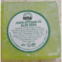 Finca Canarias | Jabon Artesano de Aloe Vera Handseife 20g (Gran Canaria)