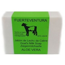 Jabon Fuerteventura | Jabon de Leche de Cabra y Aloe Vera Ziegenmilchseife 110g (Fuerteventura)