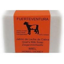Jabon Fuerteventura | Jabon de Leche de Cabra y Miel Ziegenmilchseife mit Honig 110g (Fuerteventura)