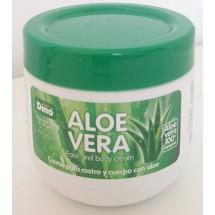 Hiperdino |  Aloe Vera Face And Body Cream 100% Aloe Vera Canario Körpercreme 300ml (Gran Canaria)