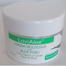 LoviAloe | Crema Multiusos con Aloe Puro Mehrzweck-Creme Aloe Vera 200ml Dose (Gran Canaria)