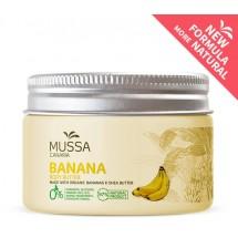 Mussa Canaria | Manteca Crema Body Butter Banana Cacao Karité Ecologico Bio Creme 300ml Dose (Teneriffa)