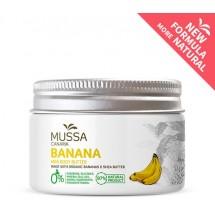 Mussa Canaria | Manteca Crema Mini Body Butter Banana Cacao Karité Ecologico Bio Creme 70ml Dose (Teneriffa)