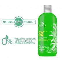 Mussa Canaria | Skin Calming Gel Aloe Vera After Sun Ecologico Bio 300ml Pumpflasche (Teneriffa)