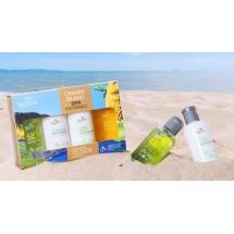 Mussa Canaria | Spa Experience Set Bano Ecologico Bio Lotion,Duschbad,Shampoo,Creme 4x80ml (Teneriffa)