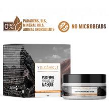 Mussa Canaria | Volcanique Purifying Natural Ash Masque Vulkanasche-Gesichtsmaske 100ml Glas (Teneriffa)