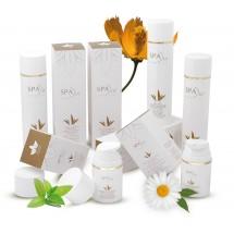 Spa In Cosmetics | Pack Hidratacion Crema Corporal Hidratante, Gel Aloe Vera Calmante con Camomila, Facial Hidronutritiva Eco Bio 3x Flasche (Gran Canaria)