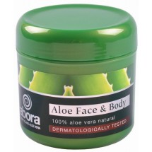 abora | Aloe Face and Body Moisture Cream dermatologically tested Aloe Vera-Creme 300ml Dose (Teneriffa)