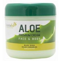 Tabaibaloe | Aloe Premium Cream Face & Body Aloe Vera 300ml Dose (Teneriffa)