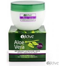 eJove | Aloe Vera Crema Anti Arrugas y Lifting de Dia y Noche Antifalten-Creme Tag und Nacht 300ml (Gran Canaria)