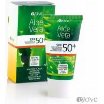 eJove | Aloe Vera Creme Proteccion Solar SPF50 Sonnenschutzcreme 50ml Tube (Gran Canaria)