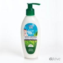 eJove | Leche Corporal Aloe Vera Baby Feuchtigkeitsmilch für Kleinkinder 200ml Pumpflasche (Gran Canaria)