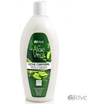 eJove | Leche Corporal Aloe Vera Feuchtigkeitsmilch 500ml Pumpflasche (Gran Canaria)