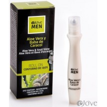 eJove MEN | Contorno de Ojos Roll-On Aloe Vera Y Baba de Caracol 15ml (Gran Canaria)