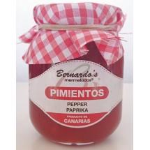 Bernardo's Mermeladas   Crema de Pimiento Paprika-Creme Marmelade 240g (Lanzarote)