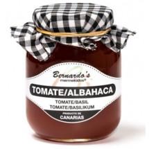 Bernardo's Mermeladas | Crema de Tomate Albahaca Tomaten-Basilikum-Konfitüre 65g (Lanzarote)
