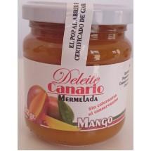 Deleite Canario Mermelada | Mango-Konfitüre 212g Glas (Gran Canaria)