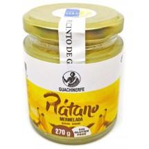 Guachinerfe | Platano Mermelade sin gluten Bananen-Marmelade glutenfrei 270g Glas (Teneriffa)