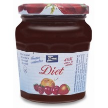 Tirma | Confitura Frutas Variadas Diet Mehrfrucht-Marmelade Diät 240g (Gran Canaria)