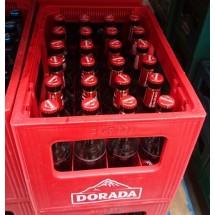 Dorada | Pilsen Cerveza Bier 4,7% Vol. 24x 330ml Glasflaschen Mehrweg in Pfandkiste (Teneriffa)
