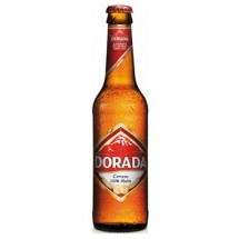 Dorada | Pilsen Cerveza Bier Retractil 4,7% Vol. 24x 330ml Glasflaschen Stiege (Teneriffa)
