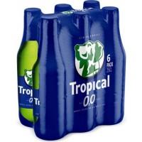 Tropical | 0,0 Cerveza Sin Alcohol alkoholfreies Bier 6x 250ml Glasflasche (Gran Canaria)