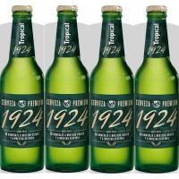 Tropical | 1924 Cerveza Premium Bier 6,4% Vol. 330ml Glasflasche im 4er-Pack (Gran Canaria)