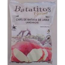Batatito's | Gourmet Chips de Batata de Jable Lanzarote sin gluten Kartoffelchips 100g Tüte (Lanzarote)
