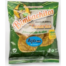 Bimbachitos de Canarias | Ajo Garlic Bananenchips mit Knoblauch 90g (El Hierro)