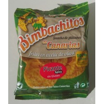 Bimbachitos de Canarias | Picante Spicy Bananenchips pikant 90g (El Hierro)