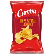 Cumba | Chips Natural Sabor Original kanarische Kartoffelchips gesalzen 160g (Gran Canaria)
