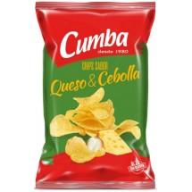 Cumba | Chips Queso y Cebolla kanarische Kartoffelchips Käse & Zwiebeln 150g (Gran Canaria)